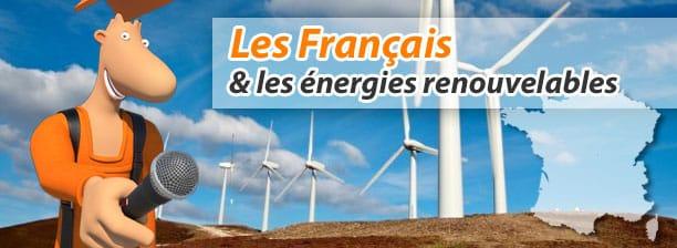 sondage les français et les énergies renouvelable