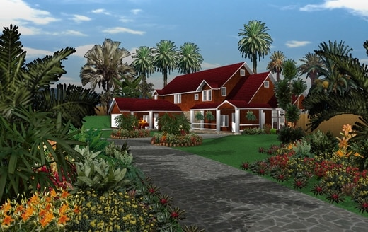1 cote jardin avanquest