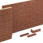 briques de parement extérieur