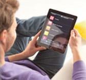 application domotique Somfy sur tablette