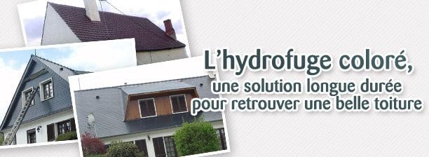 toiture hydrofugée