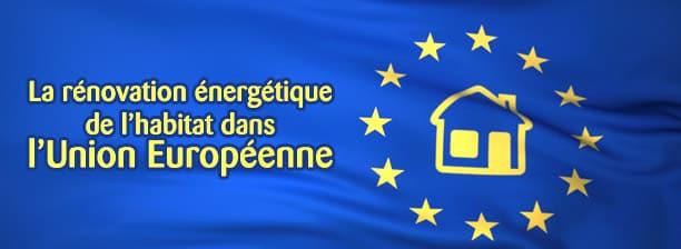 la rénovation énergetique en europe