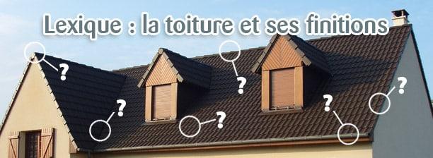 lexique toiture