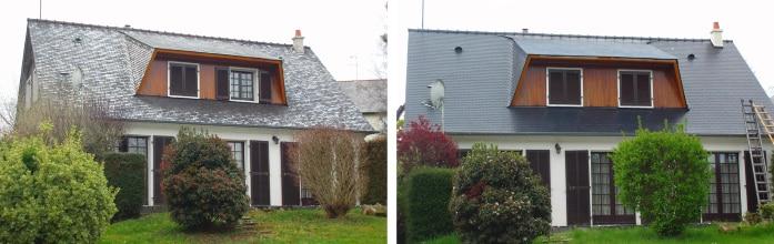 rénovation toiture avec TechnitoitColor® Incolore