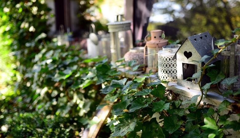 objets et meubles recyclés pour une déco personnalisée et bon marché dans le jardin