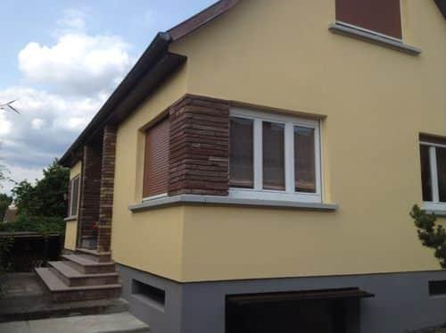 exemple façade bi-ton