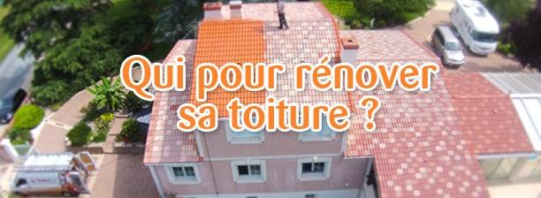 les acteurs pour rénover une toiture