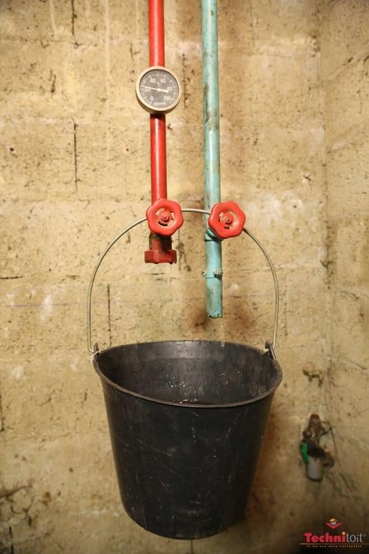 chantier technitoit ercé près liffré nettoyage du réseau de canalisation
