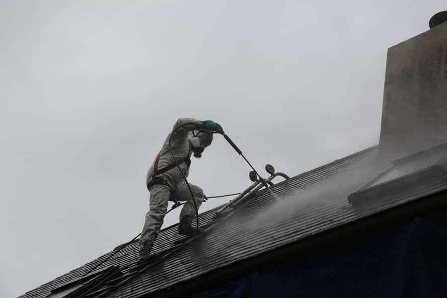 chantier technitoit à tiercé (49), ite + façade + toiture