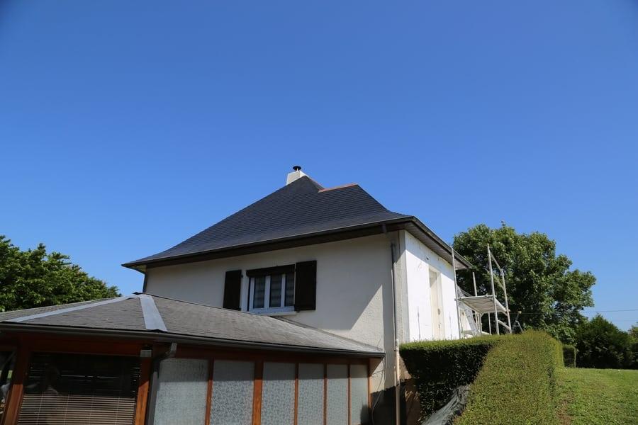 chantier technitoit à tiercé (49), ite + façade + toiture 07
