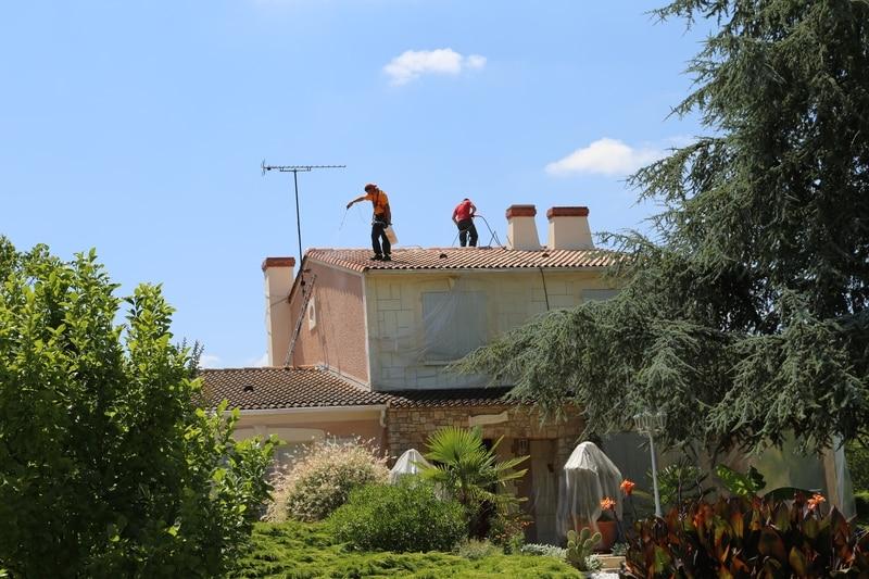 chantier renovation toiture bazoges en paillers (85) 04