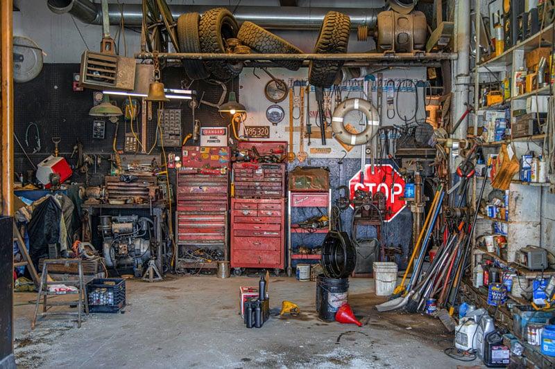 garage piece de vie
