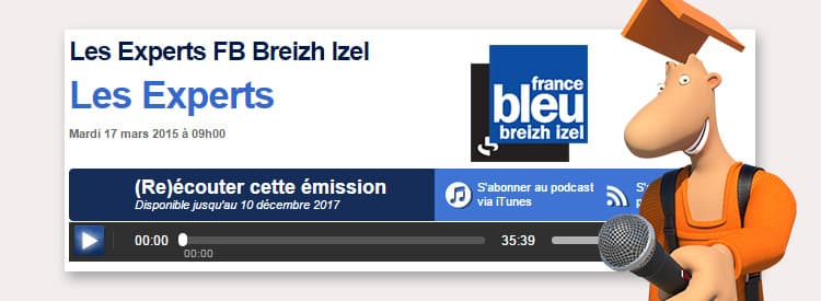 [Podcast] L'expertise de Technitoit sur France Bleu Breizh
