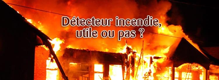 détecteur incendie