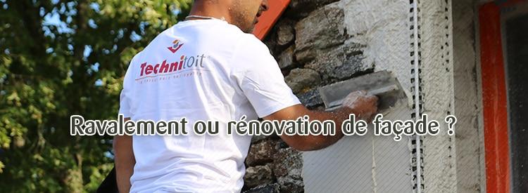 ravalement ou renovation de facade