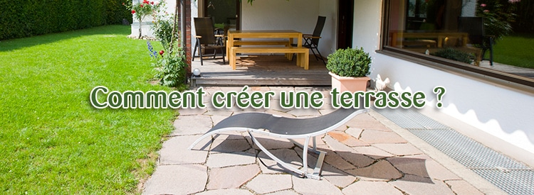 comment creer terrasse