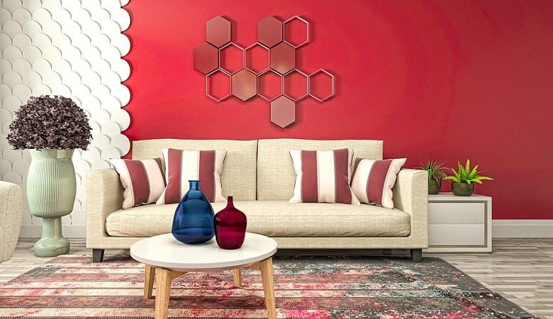comment décorer votre salon avec une couleur flashy