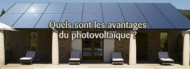avantages photovoltaique
