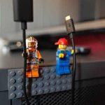 LEGO pour maintenir fils électriques