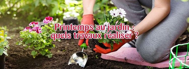 les travaux du jardin au printemps