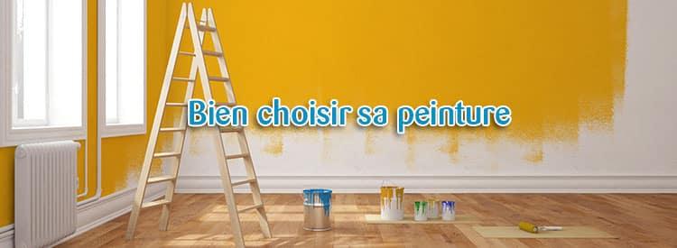 bien choisir sa peinture
