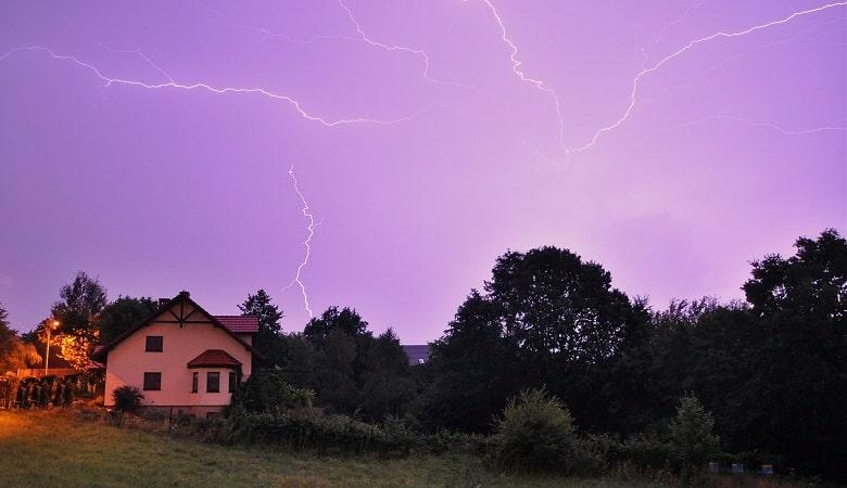 comment protéger sa maison contre l'orage et la foudre
