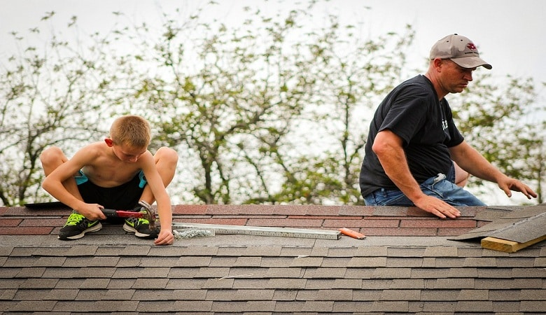 rénover sa toiture en été