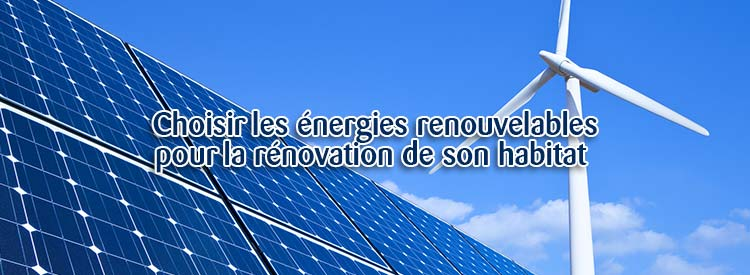 energie renouvelable renovation