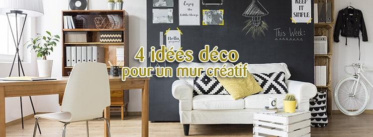 4 idées déco pour un mur créatif