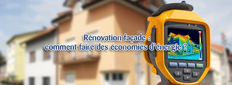 renovation facade economies energie