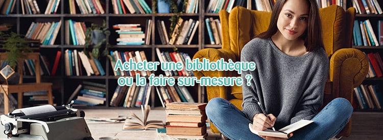 accheter bibliotheque