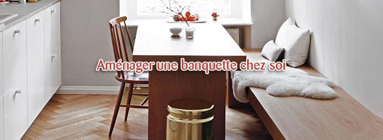 amenager banquette
