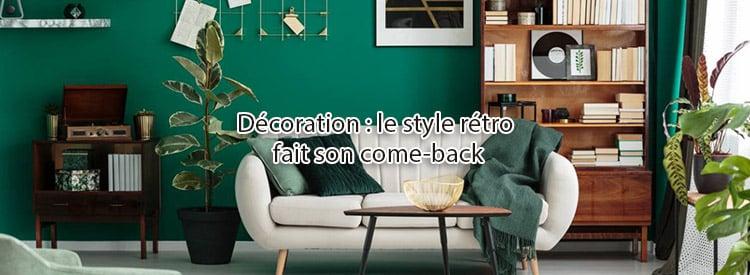 decoration style retro come back