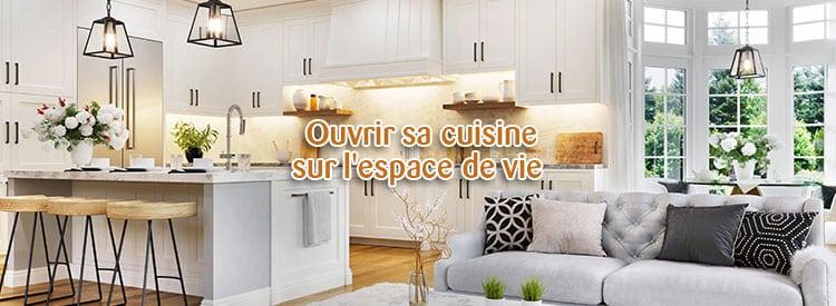 ouvrir cuisine espace de vie