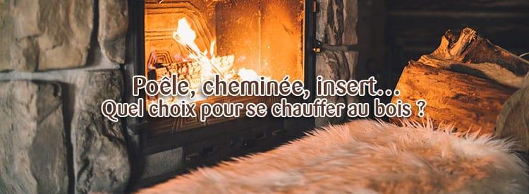 choix chauffage bois