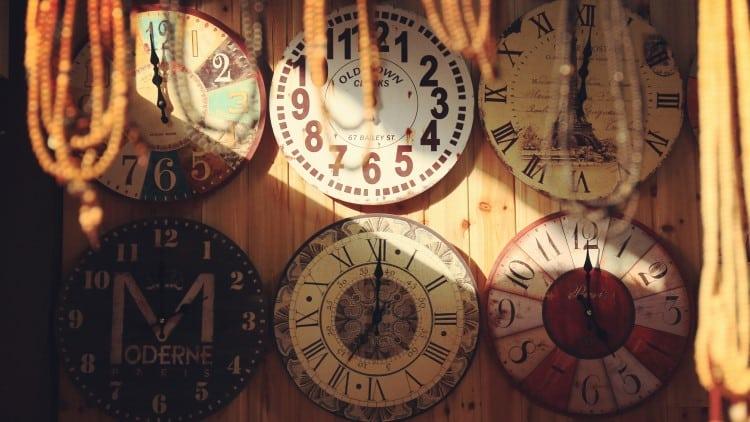 Horloge Deco Vintage