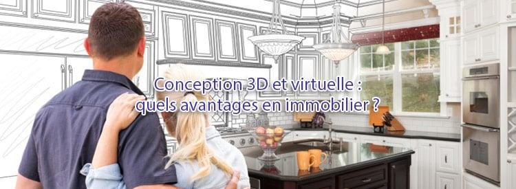 conception 3d virtuelle avantages immo