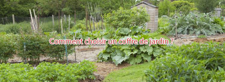 comment choisir un coffre de jardin