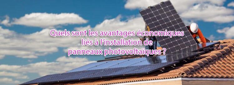avantages economiques installation photovoltaique