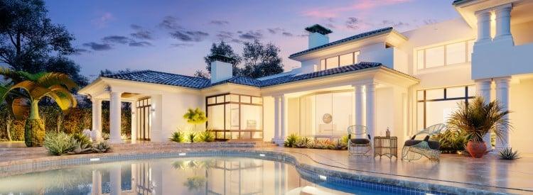 caracteristiques maison villa luxe