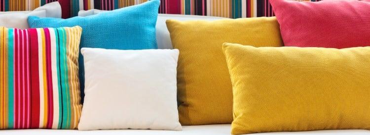 décoration de la chambre bien placer les oreillers