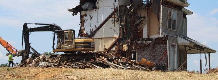 demolition totale ou partielle batiment