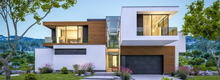 perspective 3d d'architecture