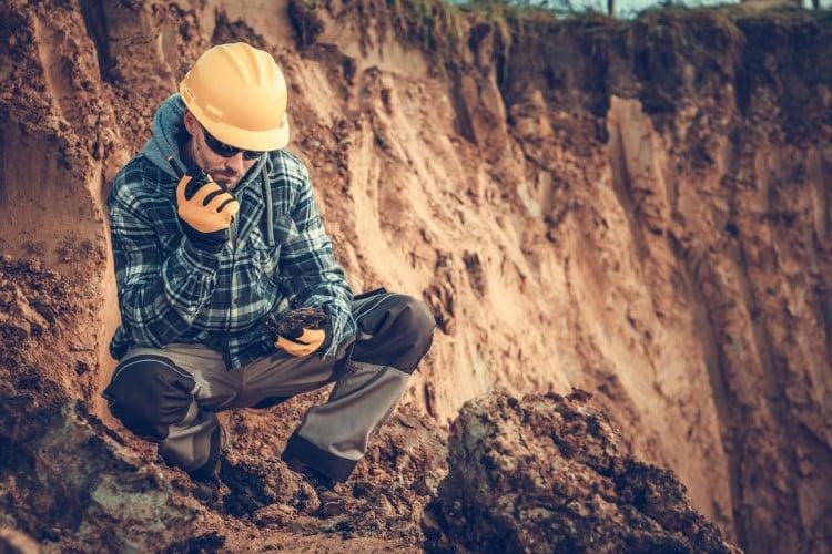 géomètre étude de sol