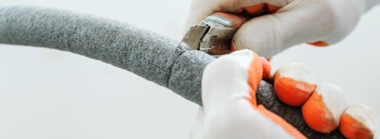 calorifugeage isolation des tuyaux