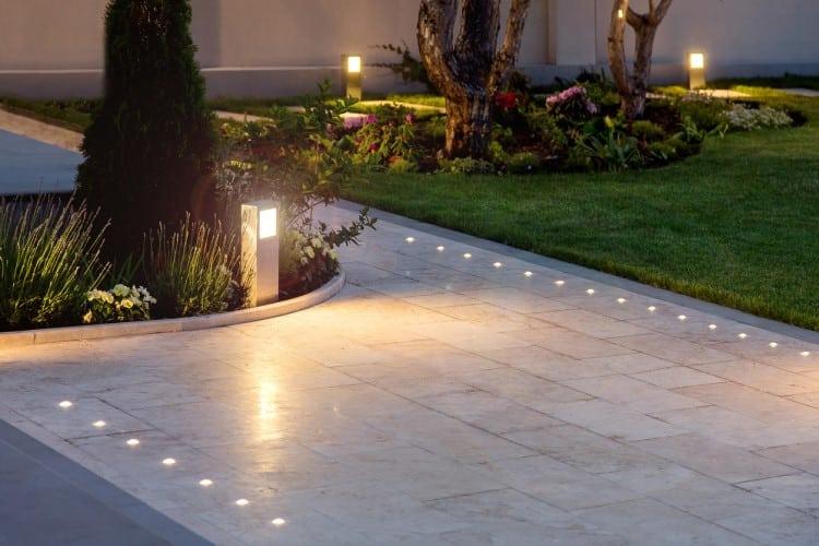 éclairage jardin led