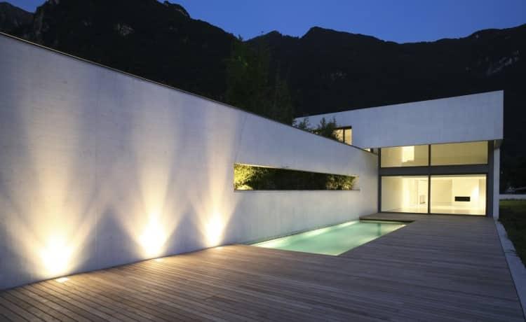 ruban led éclairage piscine