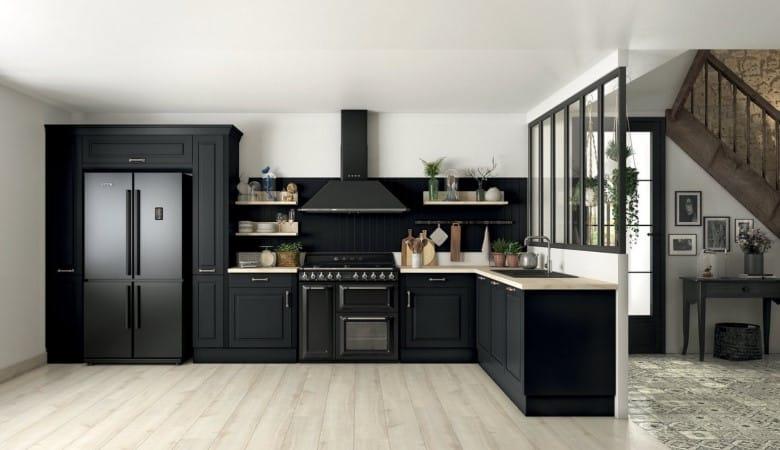 cuisine noire sur mesure